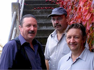 Jeff Sherman, Jerry Cook, Greg Sherman in Port Townsend